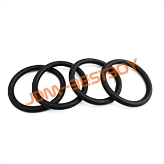 JDMBESTBOY 4pcs Universal Bumper Quick Relese Fasteners Replacement Rubber Bands O Rings