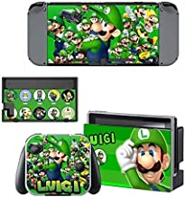 Game Stickers Decals Skin for Nintendo Switch, Cover Protector Wrap Durable Full Set Protection Faceplate Console Joy-Con Dock by cocailony