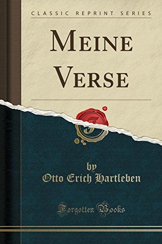 Meine Verse (Classic Reprint)