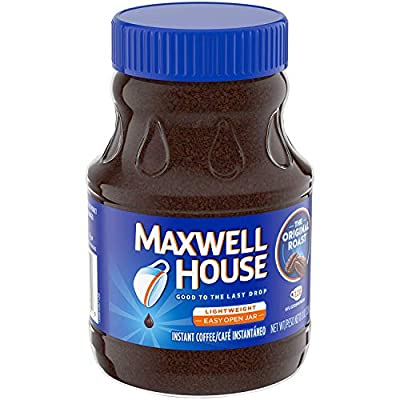 Maxwell House Original Blend Instant Coffee Medium Roast 8 Ounce Canister, 3 Pack