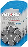RAYOVAC Hörgeräte-Batterien 675 Extra Advanced...