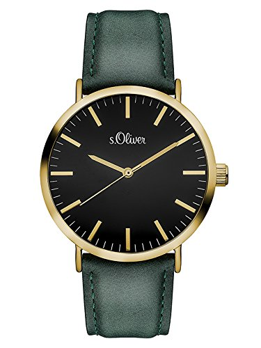 s.Oliver Damen-Armbanduhr Analog Quarz SO-3201-LQ