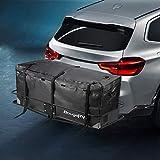 BougeRV Bolsa de Transporte Impermeable 48x 21.7X 20.1 Pulgada Bolsa de Transporte con Gancho de Transporte Portaequipajes Bolsa de Carga para vehículo Auto camión SUV Van Top Techo Trasero