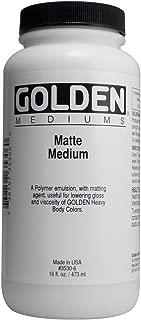Acrylic Medium Golden Matte Medium 16 Ounce