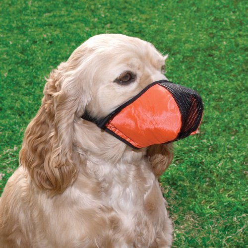 Pro Guard Softie Dog Muzzle - Giant, Red