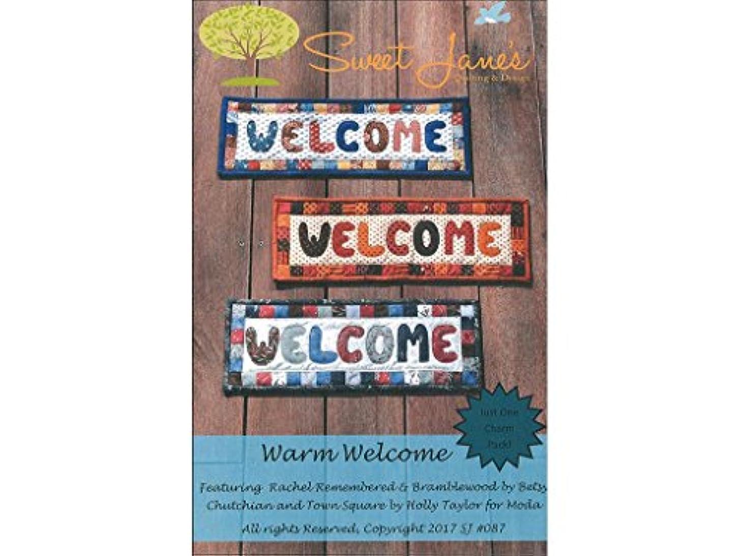 Sweet Janes Quilting Designs Sweet Janes Designs Warm Welcome Ptrn