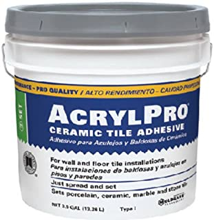 Custom BLDG Products ARL40003 Cera Tile Adhesive, 3.5 Gallon