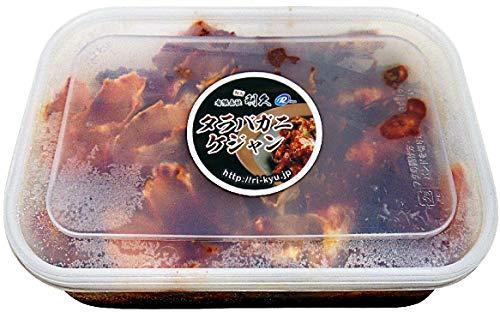 浜田屋キムチ 生のタラバ蟹ケジャン1�s 冷凍 【北海道産本タラバ使用】