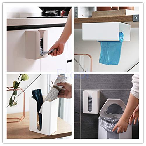 Ecool ティッシュケース 壁掛け おしゃれ 北欧 ティッシュカバー ティッシュボックス 収納 グレー ブラック ケース 壁 トイレ キッチン 洗面所 ティッシュホルダー キッチン収納 壁付け 壁に付けられる 便利グッズ