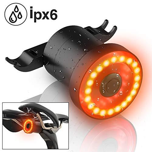 Meidi LED-Fahrrad-Rücklicht, sehr hell, passt auf alle Straßenfahrräder