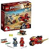 LEGO 71734 NINJAGO Kais Feuer-Bike, Motorrad Spielzeug Set ab 4 Jahre mit Figuren