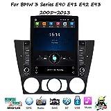Android Car Stereo Radio Double DIN Sat Nav para BMW Serie 3 E90 E91 E92 E93 Navegación GPS Pantalla táctil Vertical Unidad Principal Reproductor Multimedia Receptor de Video