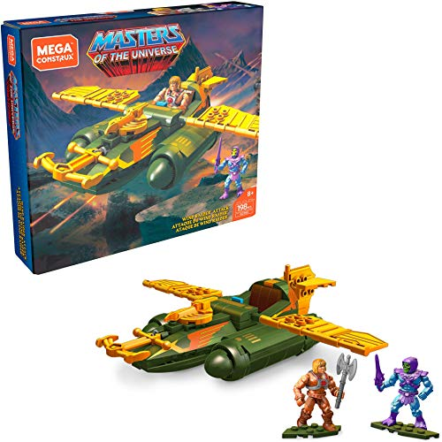 Masters of The Universe Mega Construx Probuilder Construction Set Wind Raider At