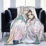 Cobija Kamisama Kiss Anime Tomoe Kimono Ligero Cálido Cama Para Niños Sofá En...