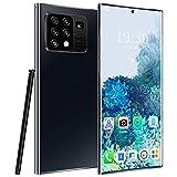 GHHYS Smartphone desbloqueado, teléfonos móviles de 8 + 512 GB, Dual SIM libre teléfono móvil con pantalla HD de 6,8 pulgadas, cámara Dual Beauty, 55000 mAh, adecuado para personas mayores.