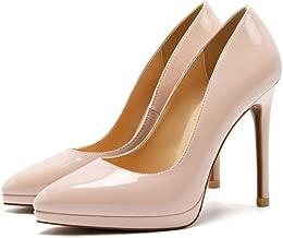 Moda Zapatos con Tacon Alto para Mujer Plataforma Elegante Fiesta Stiletto