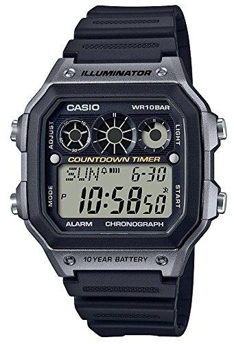 [カシオ] 腕時計 スタンダード AE-1300WH-8AJF メンズ ブラック