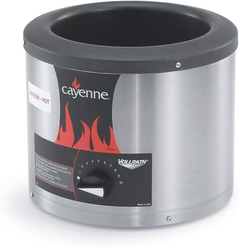 Vollrath 72425 Cayenne 4 1 8 Qt Round Food Warmer