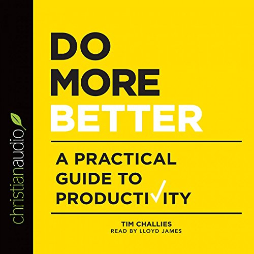 Do More Better audiobook cover art