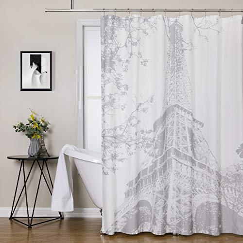 cortina baño blanca de la marca Central Park