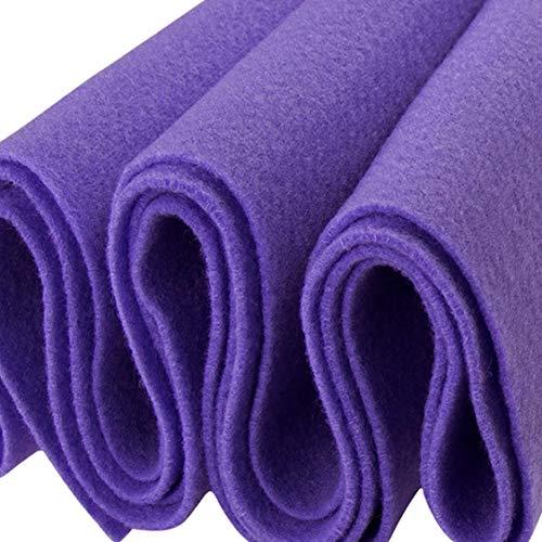 FabricLA Acrylic Felt Fabric - 72' Inch Wide 1.6mm Thick Felt by The Yard - Use Felt Sheets for Sewing, Cushion and Padding, DIY Arts & Crafts - Lavender, 1 Yard
