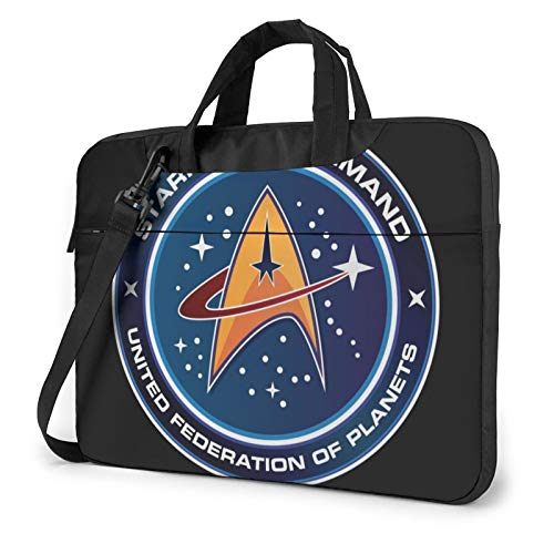 Star Trek Laptop Bag Briefcase Shoulder Messenger Bags Water Repellent Satchel Tablet Bussiness Carrying Handbag Various Sizes 13 Inch
