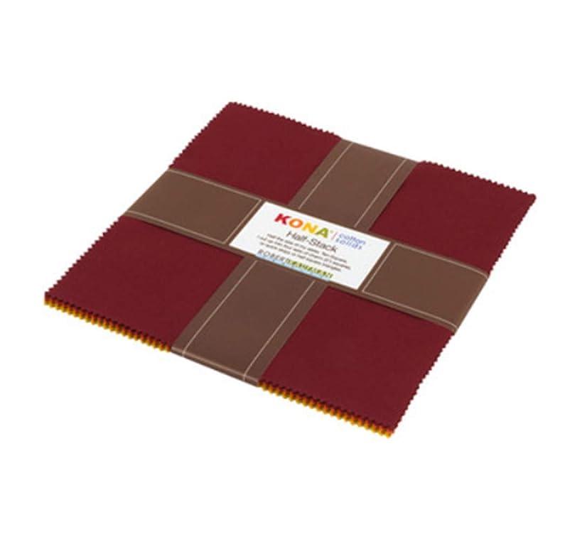 Kona Cotton Autumn Hues Palette Half Stack Ten Squares 24 10-inch Squares Robert Kaufman HS-103-24