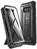 YOUMAKER Kickstand Case for Galaxy S8, Full Body with Built-in...