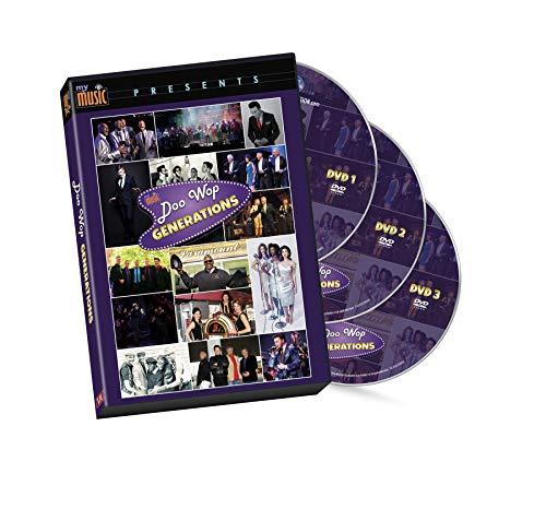 Treasury Collection | Doo Wop Generations 3-Disk DVD Set