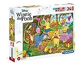 Clementoni- Maxi Puzzle 24 Piezas Winnie The Pooh, Multicolor (24201.6)