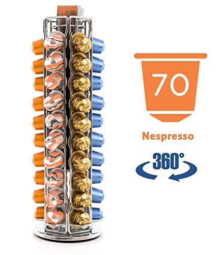 Peak Kaffee 70 Nespresso Kapsel Drehbarer Halter Halterung Ständer Kapselhalter Kapselständer Rack