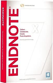 thomson reuters endnote x7