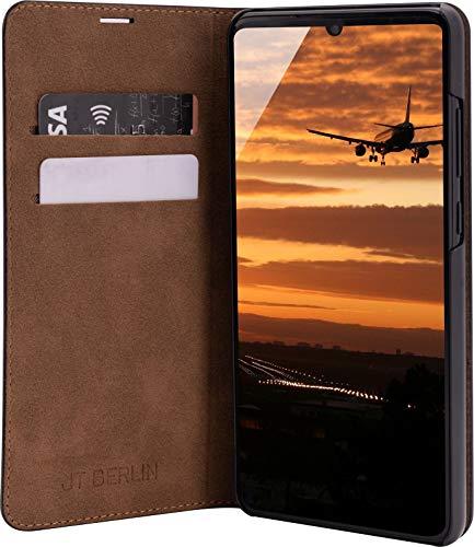 JT Berlijn hoes, Huawei P30, BookCase Tegel - zwart