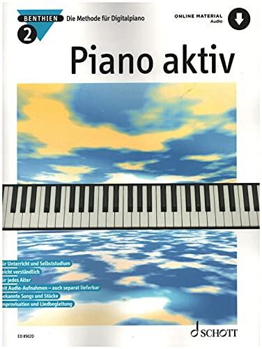 Firma MDS Schott music distribution Piano AKTIV 2 - arrangiert für Klavier - [Noten/Sheetmusic] Komponist: BENTHIEN Axel
