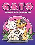 gatos libro de colorear: regalo increíble para niñas y niños, libro para colorear de gatos para amantes de los gatos y adultos, 50 dibujos increíbles
