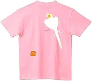 (ことりりか) Cotolyrica ルチノー オカメインコ イラスト Tシャツ バックプリント メンズ レディース ユニセックス 半袖 0235
