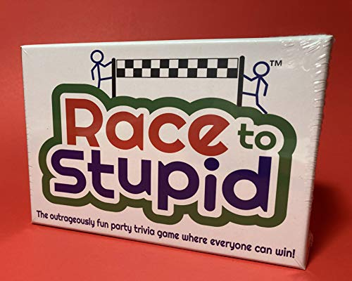 Race to Stupid - the NEW Outrageously Fun Party Trivia Game where everyone can WIN