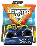 Monster Jam 2020 Spin Master 1:64 Diecast Monster Truck with Wristband: World Finals Bounty Hunter
