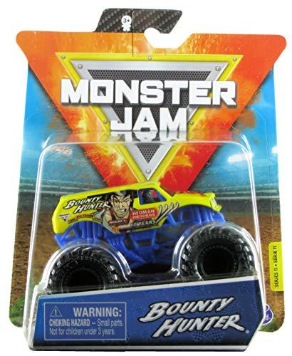 Monster Jam 2020 Spin Master 1:64 Diecast Monster Truck con pulsera: World Finals Bounty Hunter