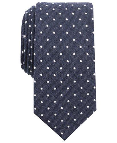Original Penguin (PENH8) Herren Montego Dot Tie Krawatte, True Navy, Einheitsgröße