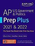 AP U.S. Government & Politics Prep Plus 2021 & 2022: 3 Practice Tests + Study Plans + Targeted Review & Practice + Online (Kaplan Test Prep) (English Edition)