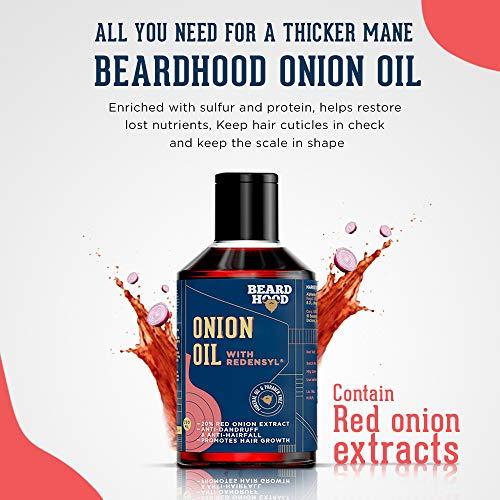 Beardhood Onion Oil-250 ml