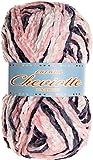 Hilo de chenilla aterciopelada para Tejer Punto Crochet o Ganchillo CHEVIOTTE MULTICOLOR de TORRIJO 85g (1 unidad * 85g) | Multicolor-12669