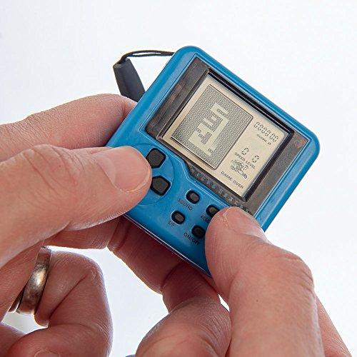 Unbekannt Funtime ET7550 Handheld Spielkonsole Micro Bricks 26 in 1 tragbare Mini Arcade Maschine, Mehrfarbig, 4.3cm