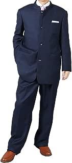 [UNITED GOLD] マオカラースーツ メンズ パーティースーツ 春夏 大きいサイズ ドレススーツ ツータック 119831 1.2.3.4.5.6