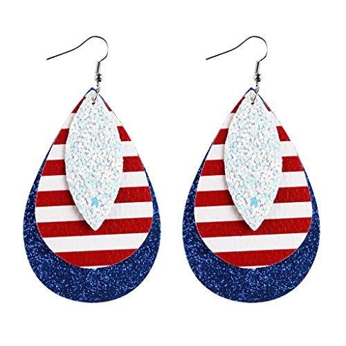 XXYsm Fashion American Party Ohrring Frauen Baumeln Ohrringe Damen Mädchen Zubehör Geschenke