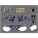 Gráficos de la Motocicleta Etiquetas Adhesivos for Yamaha YZ250F YZ450F YZF250 YZF450 YZ 250F 450F YZF 250 450 2003-2005 Motocross Pegatinas