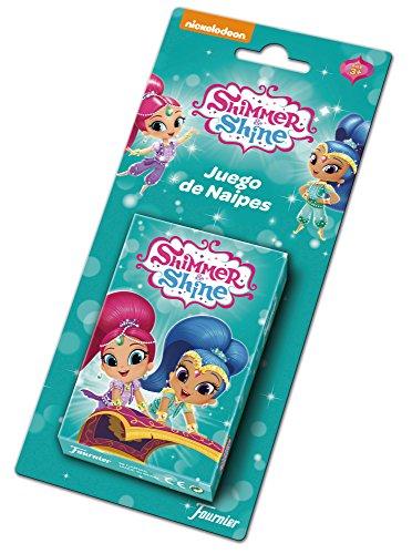 Shimmer And Shine Shimmer & Shine 1034801 Lot de Cartes pour Enfant Multicolore