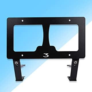 Auto Rover Tesla Model 3 Front License Plate Mount Holder License Bracket Mounting |No Drilling| |No Holes|, Comes with Two Kinds Stainless Steel Screws