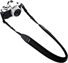 Mirrorless Camera Neck Strap JJC Neck Shoulder Belt Strap for Sony A6600 A6500 A6400 A6300 A6100 A6000 A7 III A7R IV A9 Fujifilm XT30 XT20 XT10 XT3 XT2 XT1 X-PRO2 X-E3 X100F X100T Canon M50 M6 -Black